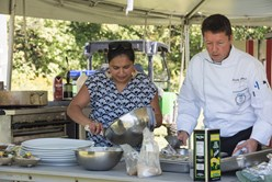 Maneet Chauhan At Roots: Innovate 2017: Healing Hearts, Spirits and Bodies One Indian Spice At a Time  Image
