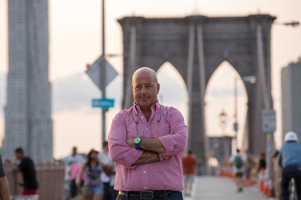 Andrew Zimmern - photo credit Travel Channel